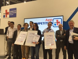 Winners of Medica Apps Competition 2015