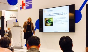 Lilian Güntsche, CEO & Founder of The Dignified Self speaking at Medica 2015