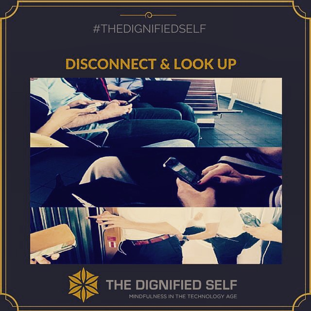 Disconnect & Look Up
