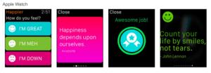Happier App Link: https://itunes.apple.com/de/app/happier/id499033500?mt=8