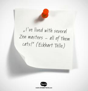 Zitat Eckhart Tolle