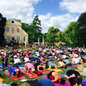 Yoga-Festival Berlin 2015, Foto: Lilian Güntsche