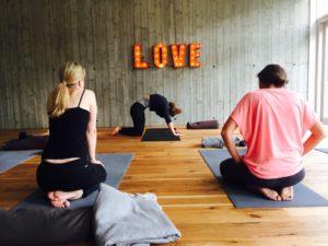Yoga-Kurs bei Elisa im Kubatzki an der Nordsee