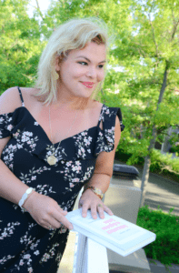 Author Lilian Güntsche,   Photo: Karen Bergh 2016
